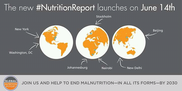 The 2016 Global Nutrition Report has been launched